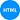 ícone html